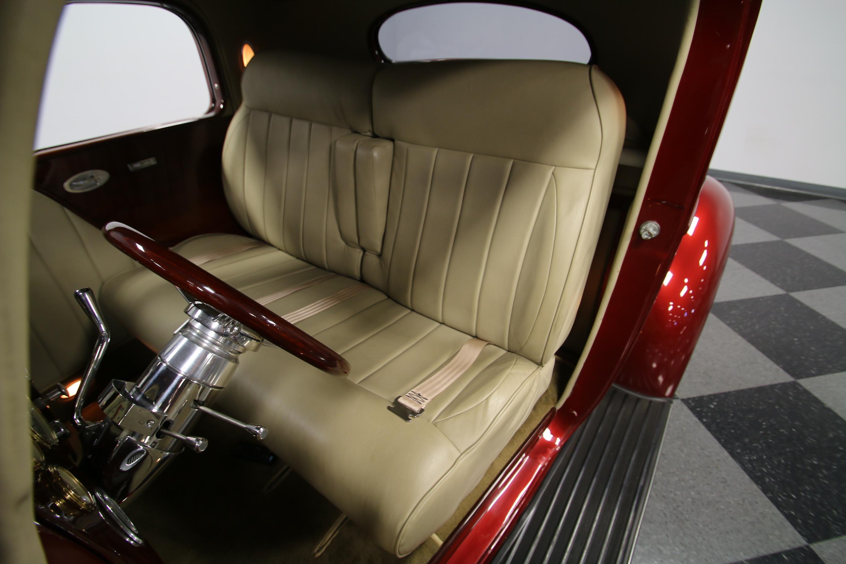 4440-CHA | 1937 Packard 115 Business Coupe Restomod | Streetside Classics