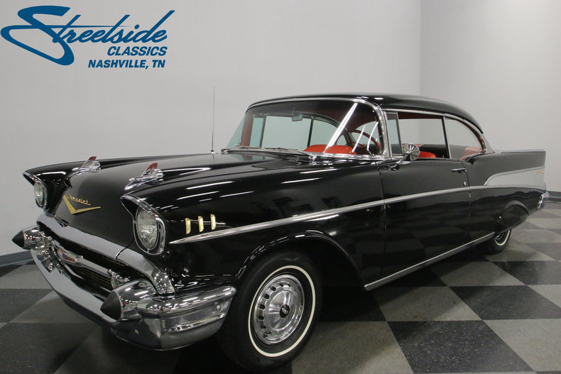 1957 chevrolet bel air streetside classics the nation 39 s trusted classic car consignment dealer. Black Bedroom Furniture Sets. Home Design Ideas