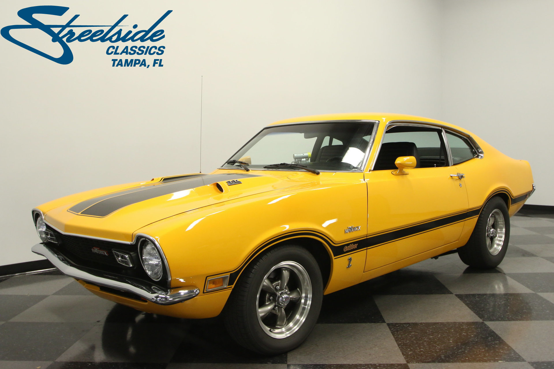 Chevy Dealers Tampa >> 1972 Ford Maverick | Streetside Classics - The Nation's Trusted Classic Car Consignment Dealer