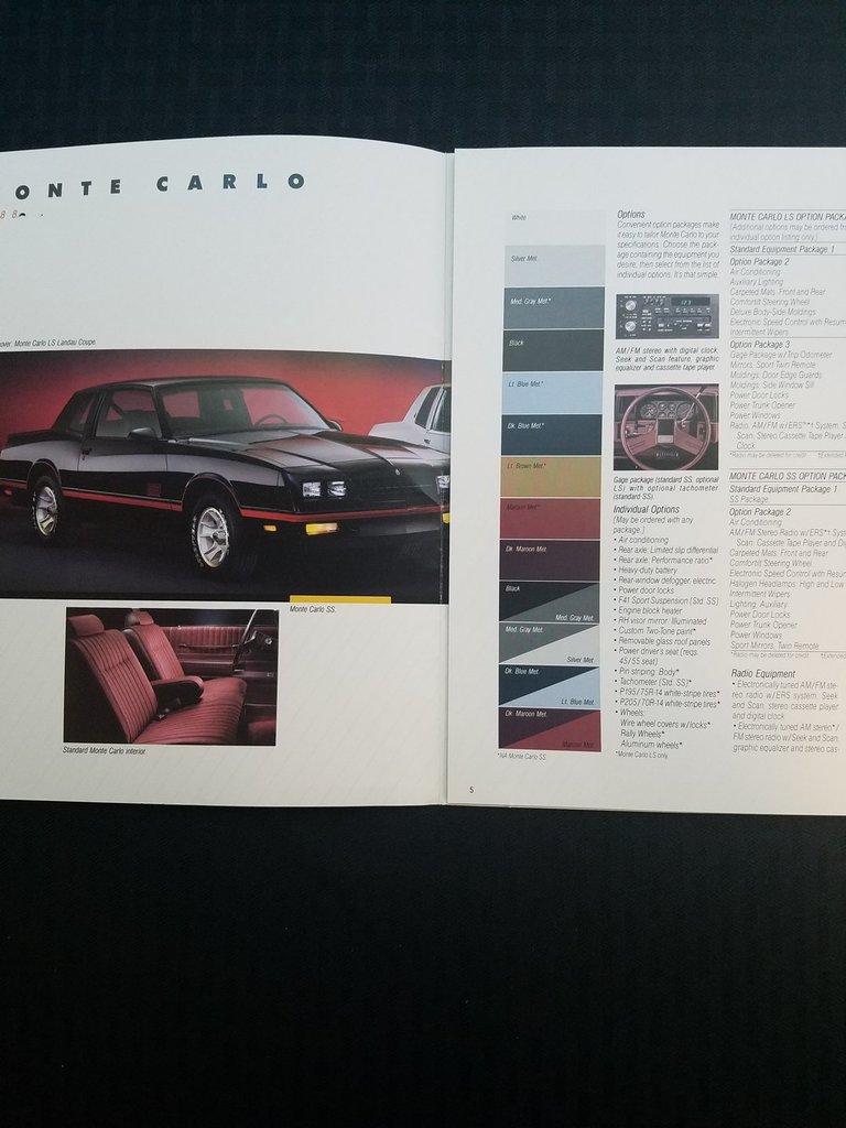 1988 Chevrolet Monte Carlo | Streetside Classics - The Nation\'s ...