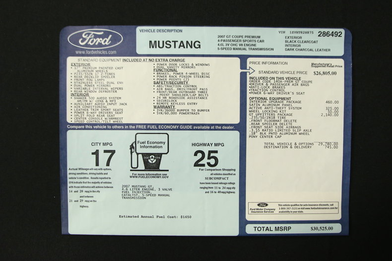 2007 Ford Mustang | My Classic Garage