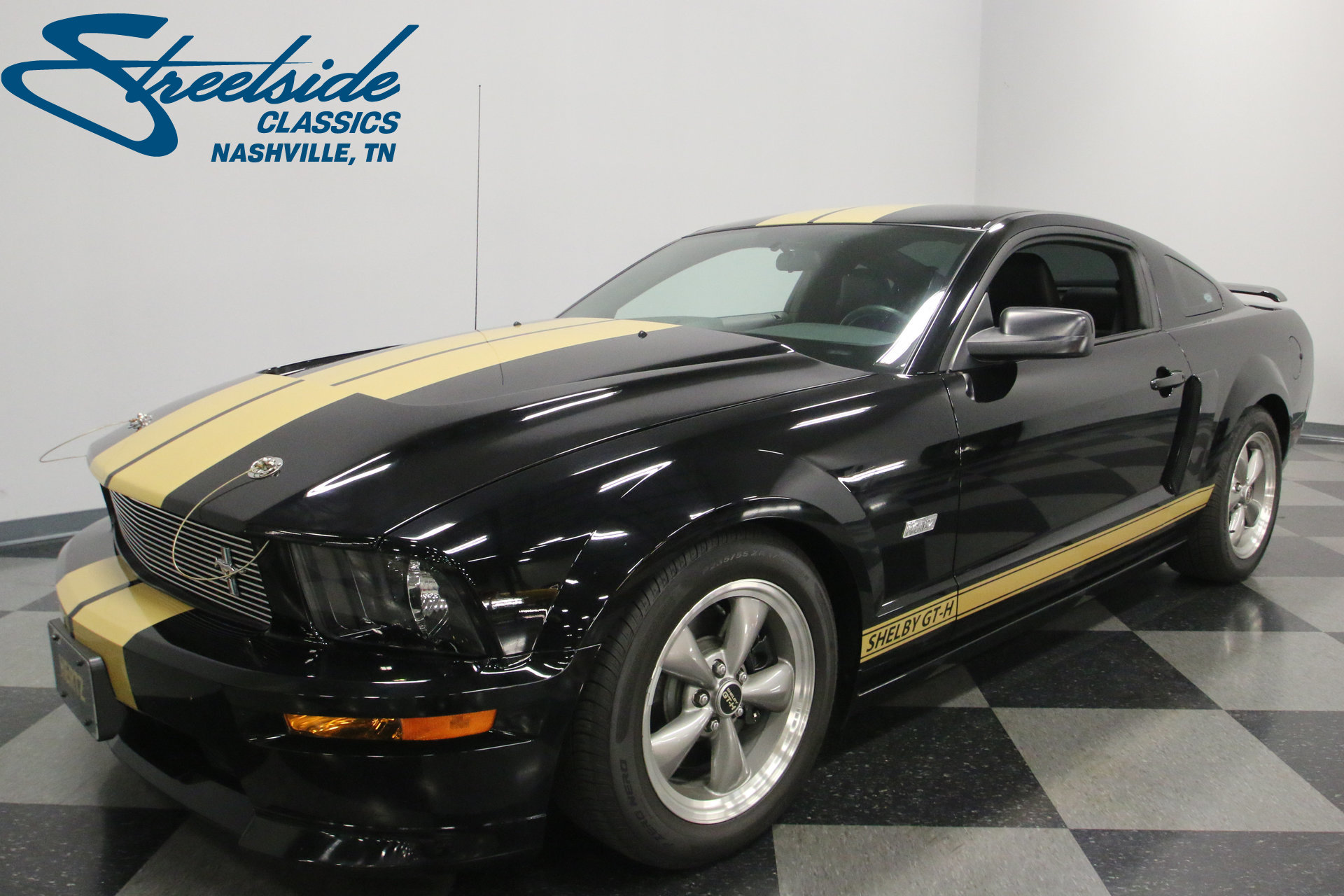 2006 ford mustang shelby gt h for sale 77349 mcg. Black Bedroom Furniture Sets. Home Design Ideas
