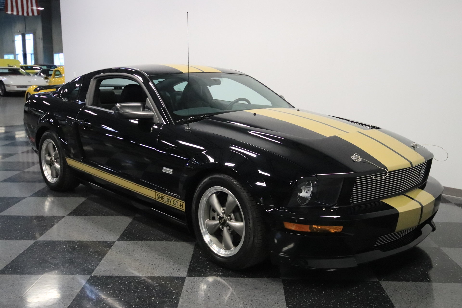 2006 ford mustang shelby gt h for sale 77372 mcg. Black Bedroom Furniture Sets. Home Design Ideas