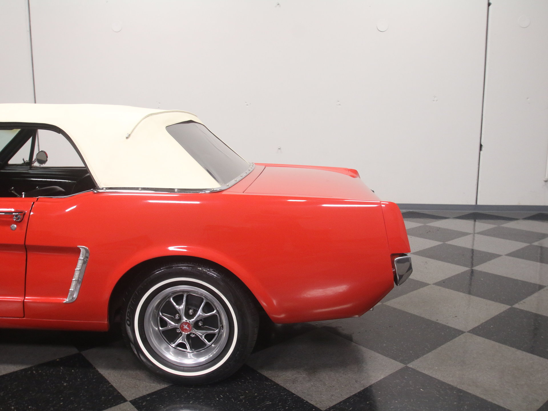 1965 Ford Mustang Convertible: FRESH C-CODE DROPTOP, 289 V8, AUTO, PWR STEERING, R134A A/C, READY TO CRUISE!!