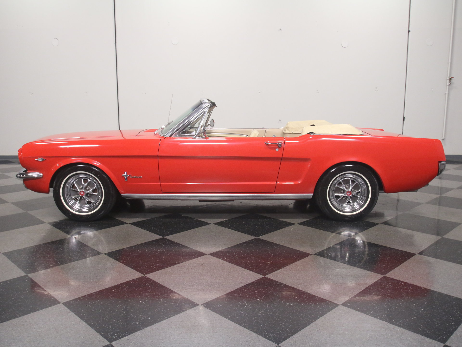 1965 Ford Mustang Convertible: FRESH A-CODE DROPTOP, 289 V8, POWER STEERING, NICELY RESTORED, READY TO CRUISE!!