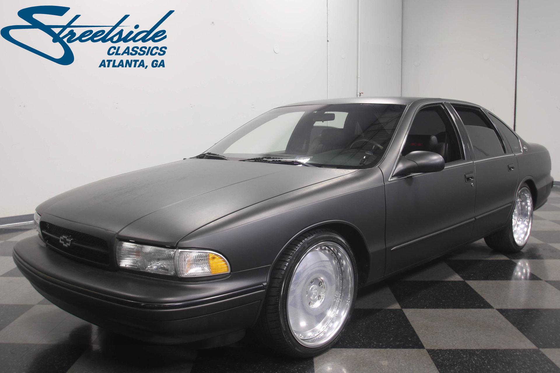 1996 chevrolet impala streetside classics the nation 39 s trusted classic car consignment dealer. Black Bedroom Furniture Sets. Home Design Ideas