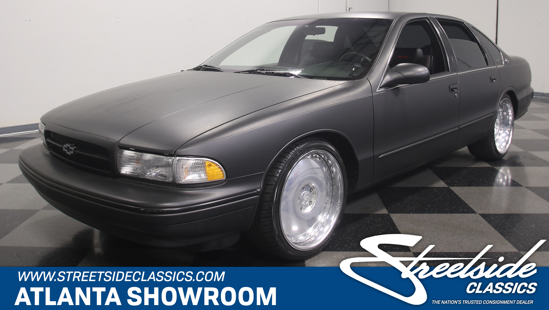 1996 chevrolet impala streetside classics the nation 39 s trusted classic car consignment dealer. Black Bedroom Furniture Sets. Home Design Ideas