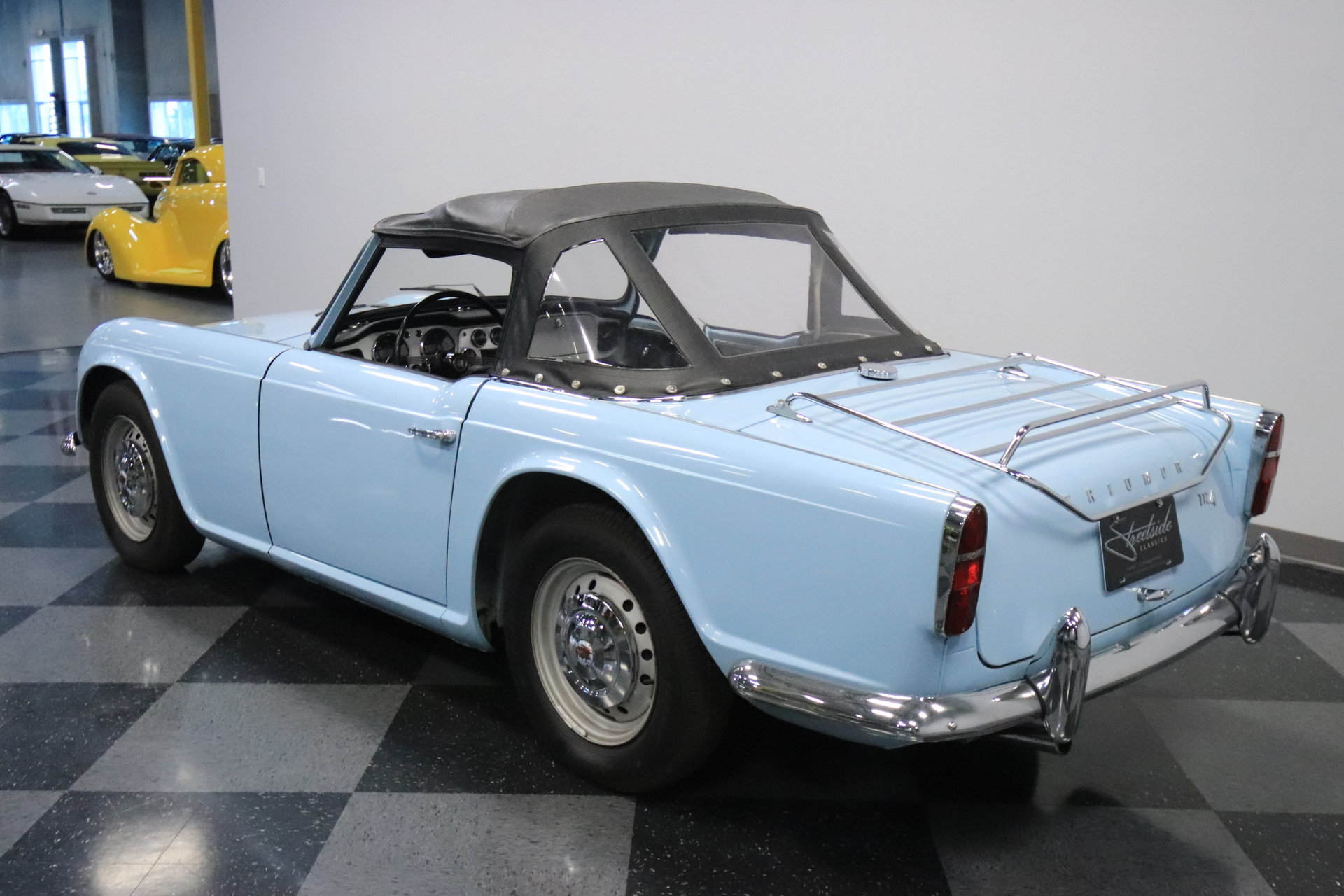 1962 triumph tr4 for sale 77717 mcg. Black Bedroom Furniture Sets. Home Design Ideas