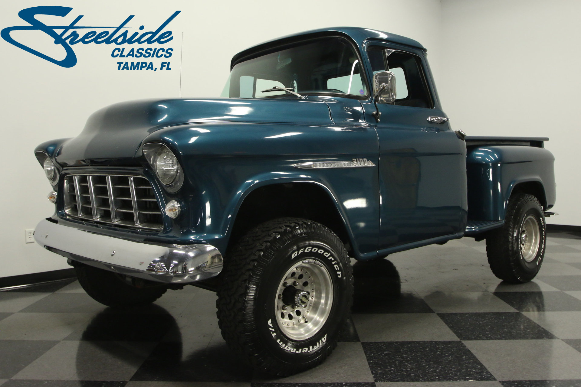 1955 Chevy Pickup Truck 4x4 Karmashares Llc Leveraging 1957 For Sale Play Video