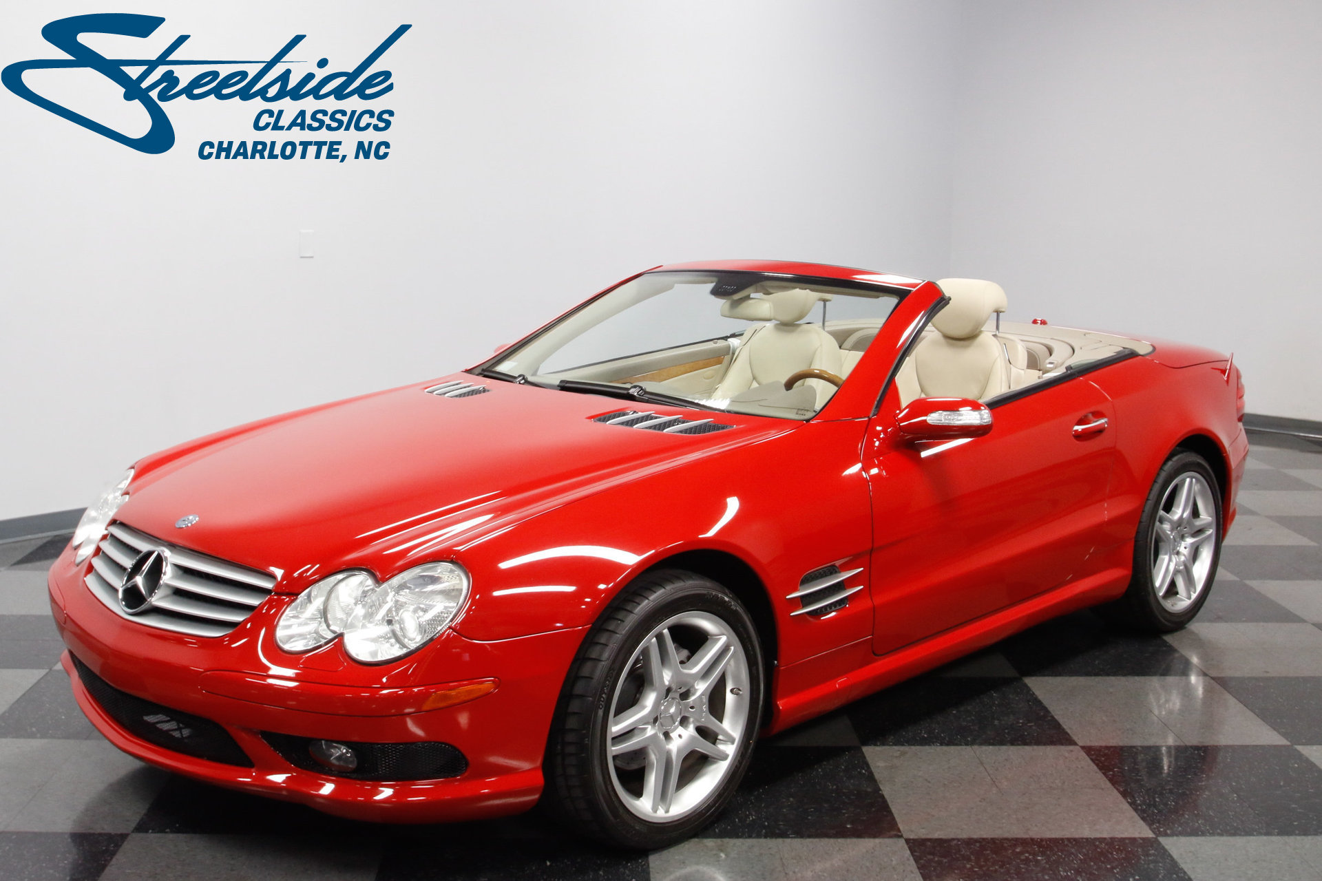 2006 mercedes benz sl500 streetside classics the for Mercedes benz for sale charlotte nc