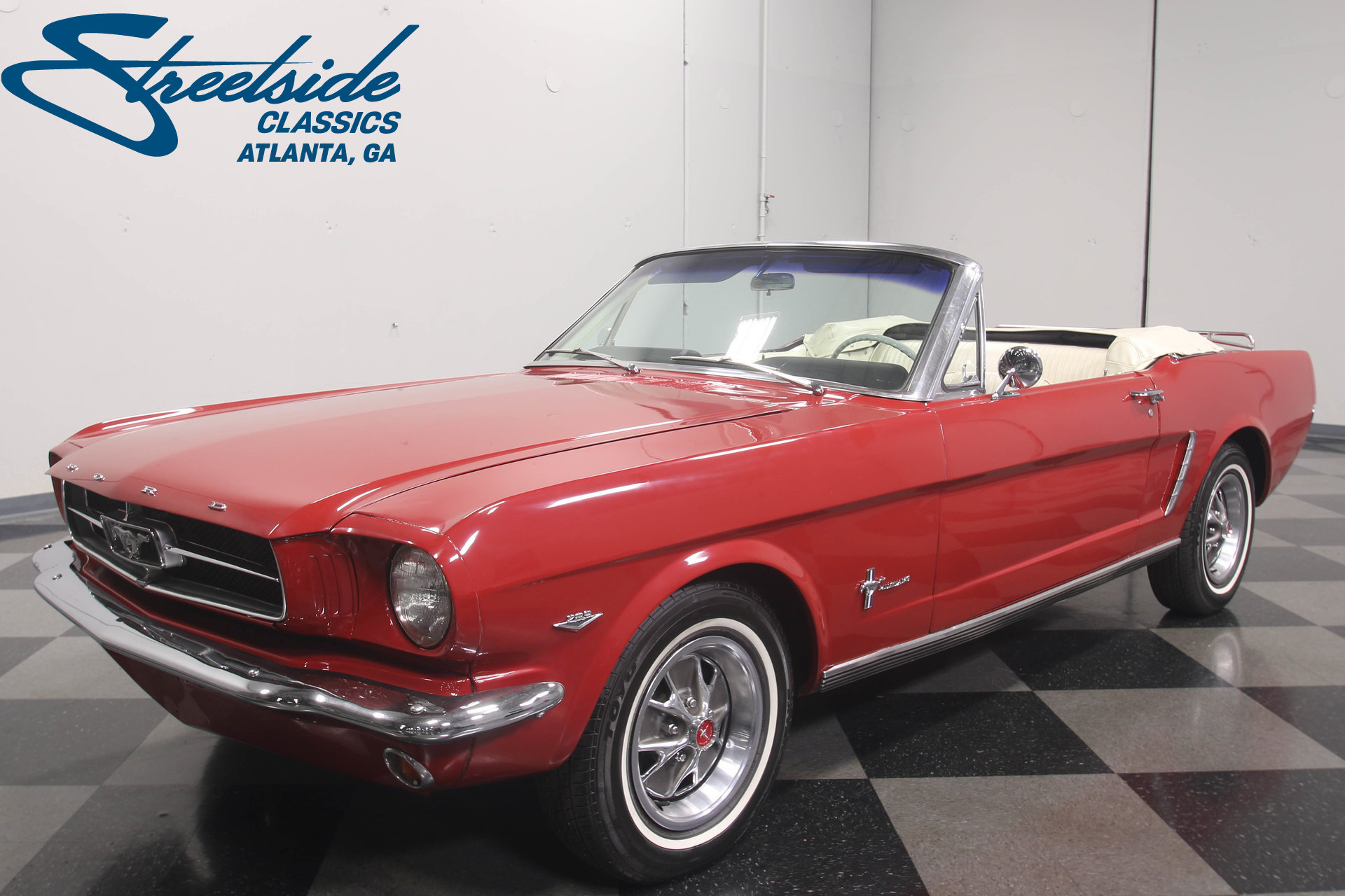 1965 Ford Mustang Convertible: FULLY RESTORED DROPTOP, 289 V8, AUTO, PWR STEERING, PWR TOP, R134A A/C, CLEAN!!