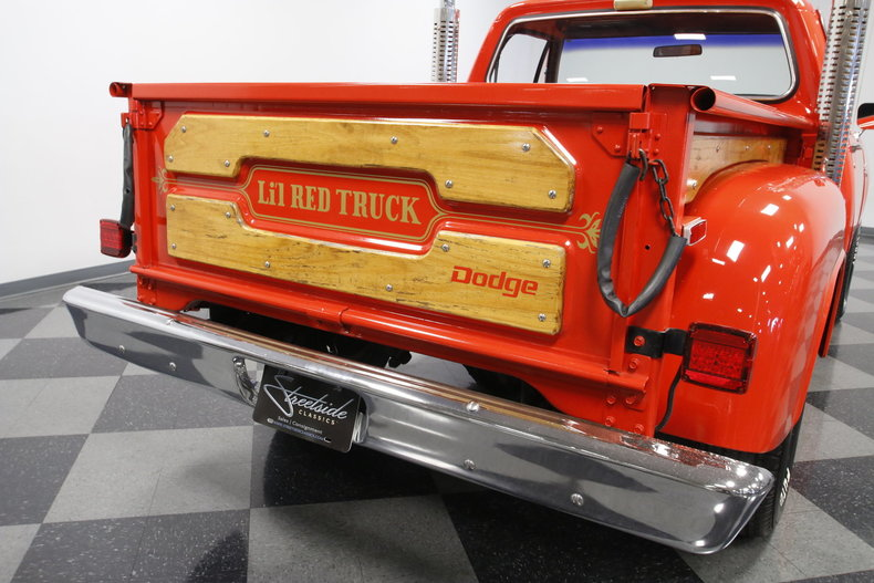 Dodge Little Red Express Paint Code