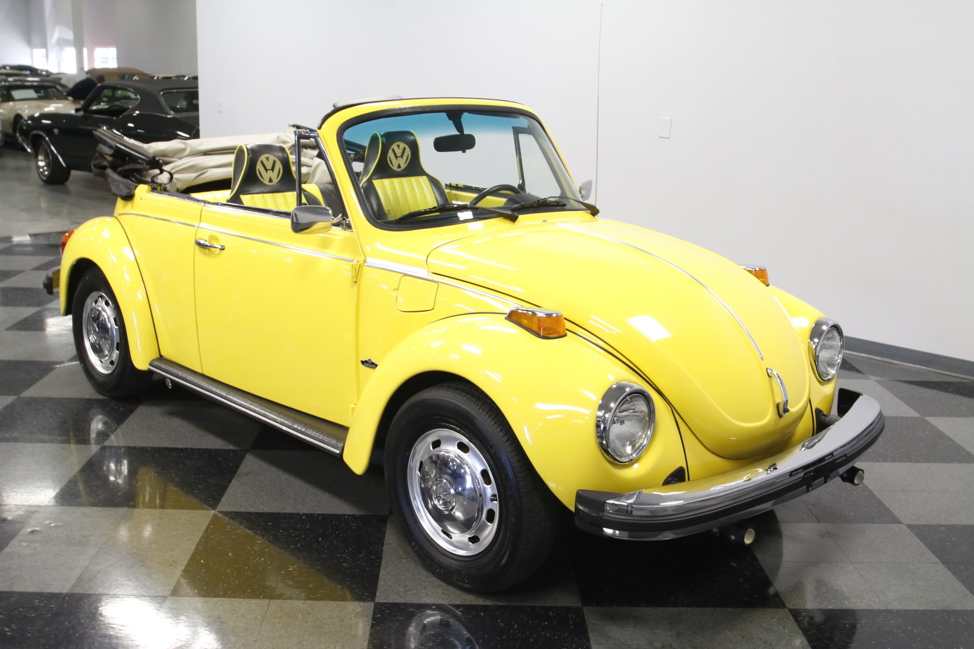 1974 volkswagen super beetle convertible for sale 78637 mcg. Black Bedroom Furniture Sets. Home Design Ideas