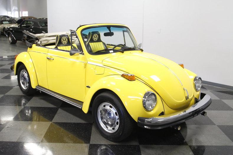 1974 volkswagen super beetle convertible for sale 78637 mcg. Black Bedroom Furniture Sets. Home Design Ideas