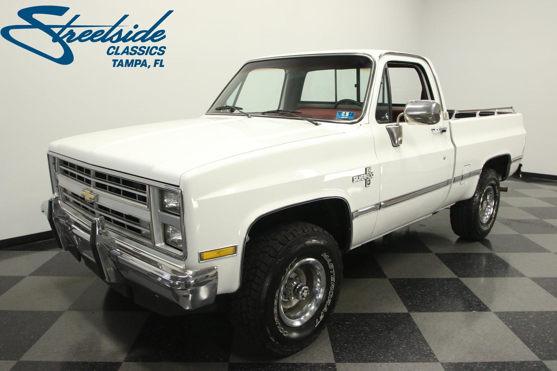 1986 Chevrolet K 10