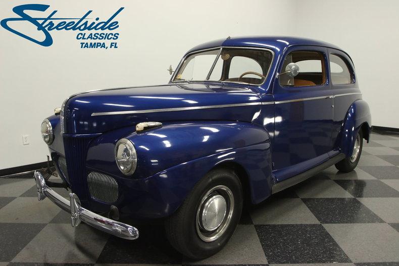 For Sale: 1941 Ford Tudor Sedan