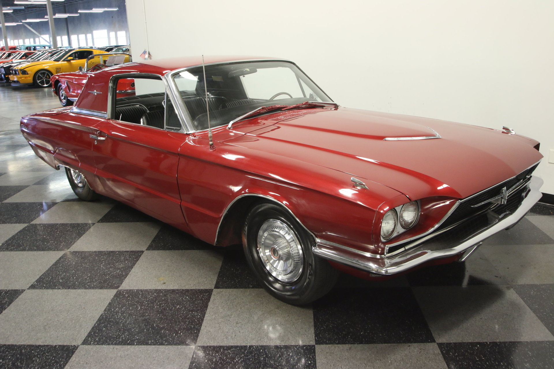 1966 ford thunderbird for sale 78955 mcg. Black Bedroom Furniture Sets. Home Design Ideas