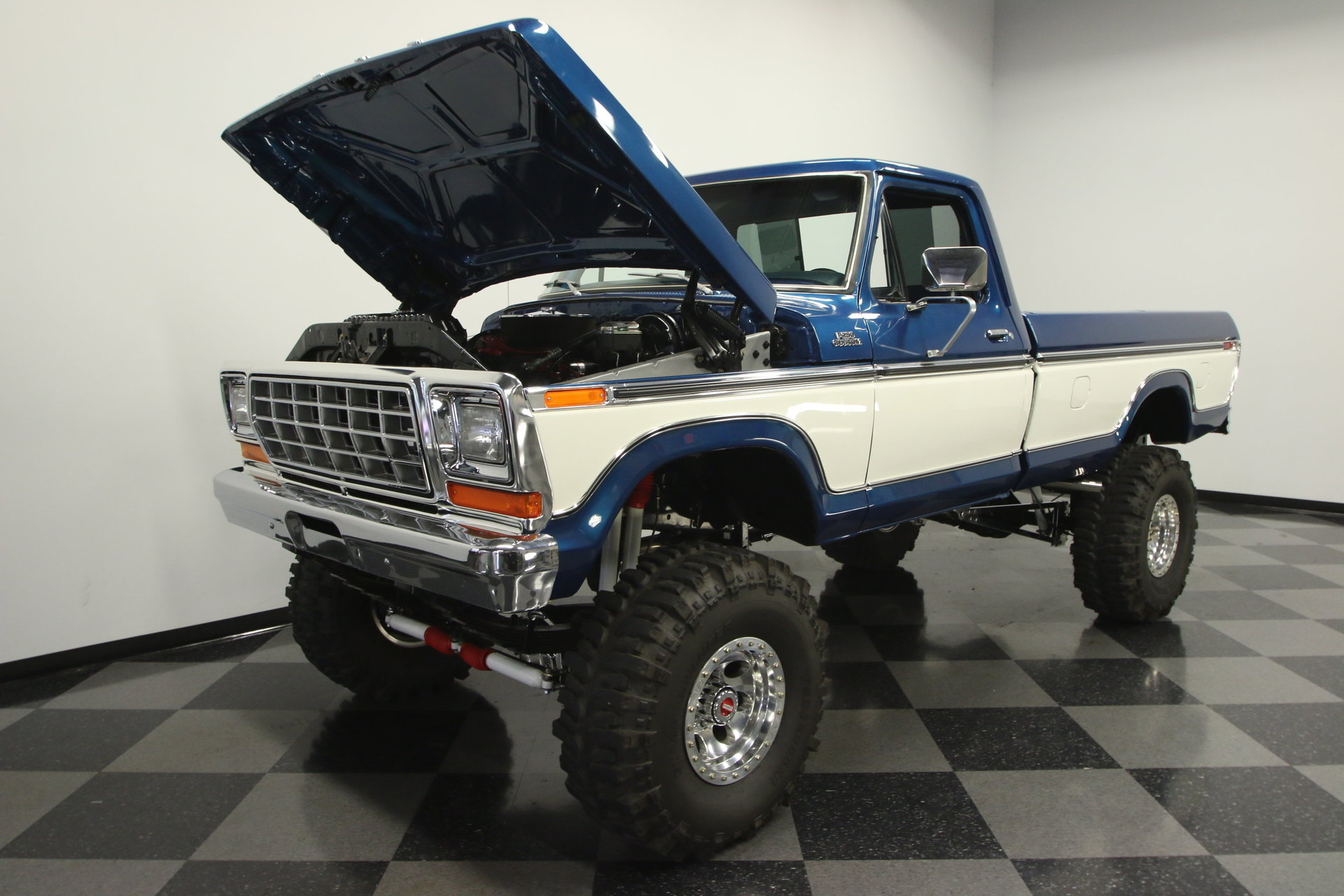 1978 Ford F 250 Streetside Classics The Nations Trusted Classic 1955 F100 White 4x4 View 360
