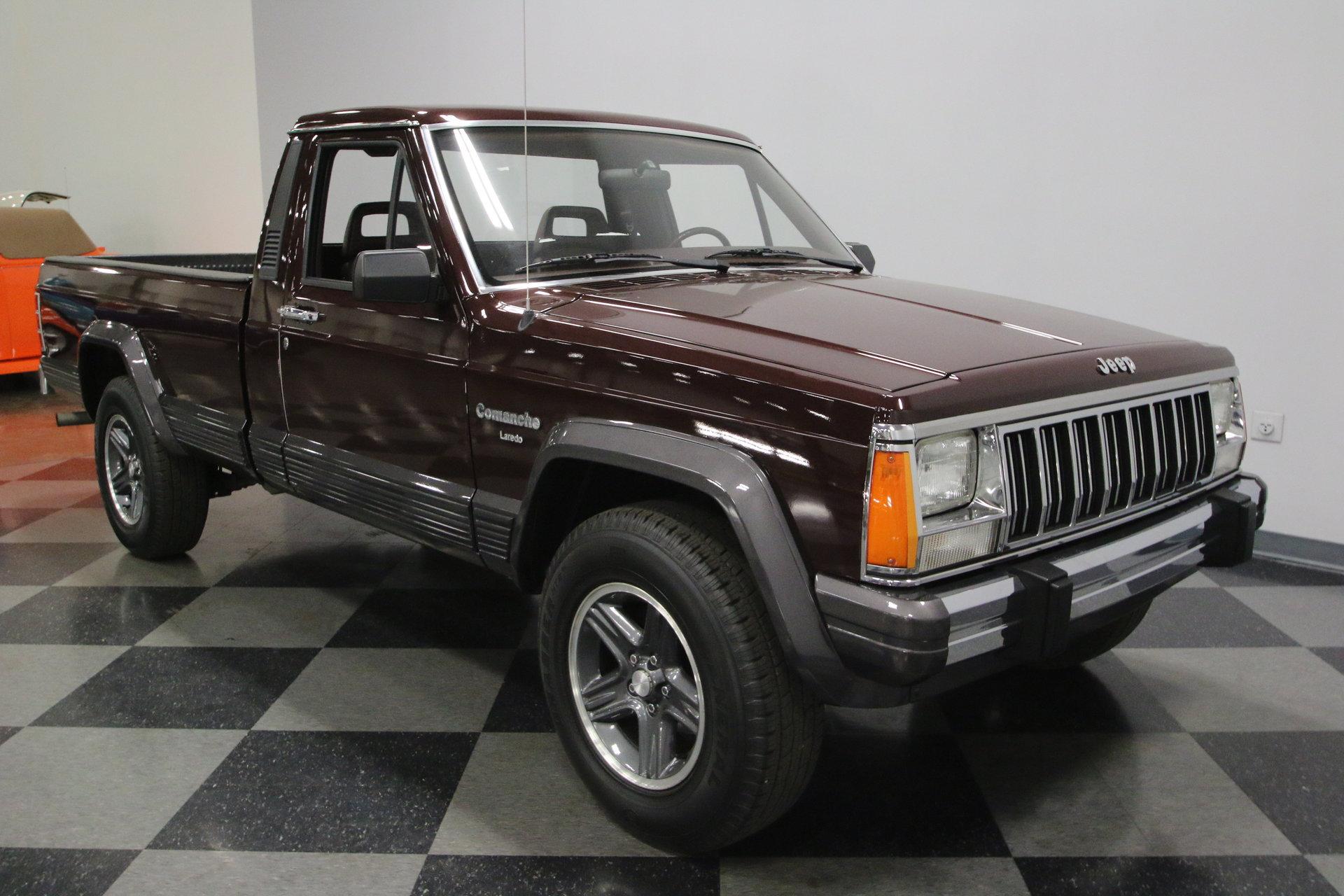 1988 jeep comanche laredo for sale 78985 mcg. Black Bedroom Furniture Sets. Home Design Ideas