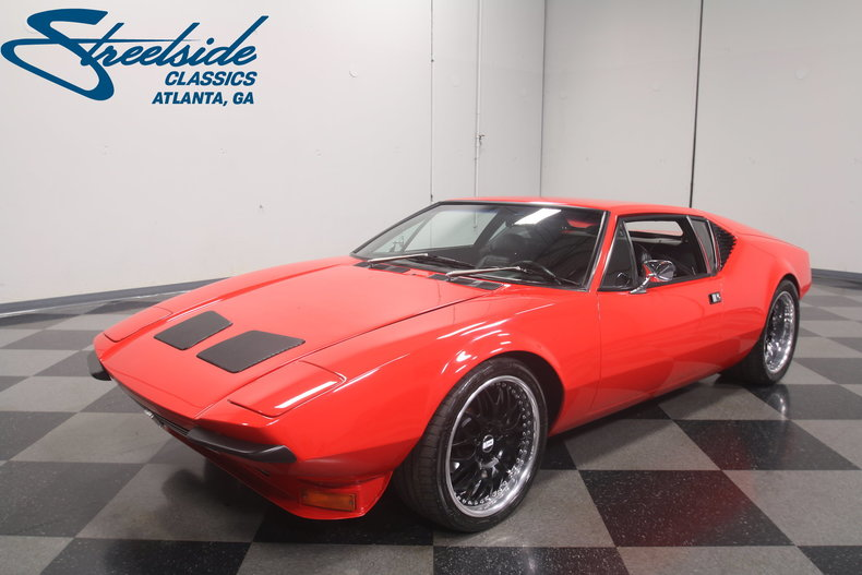 For Sale: 1973 De Tomaso Pantera