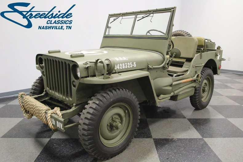 For Sale: 1943 Ford GPW Jeep