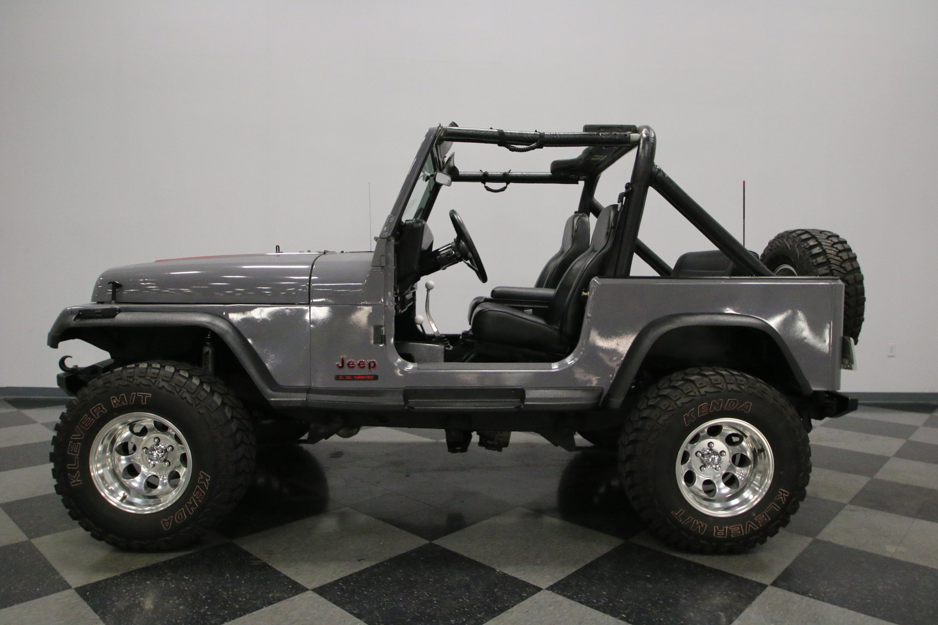 1987 Jeep Wrangler Streetside Classics The Nations Trusted Outline View 360
