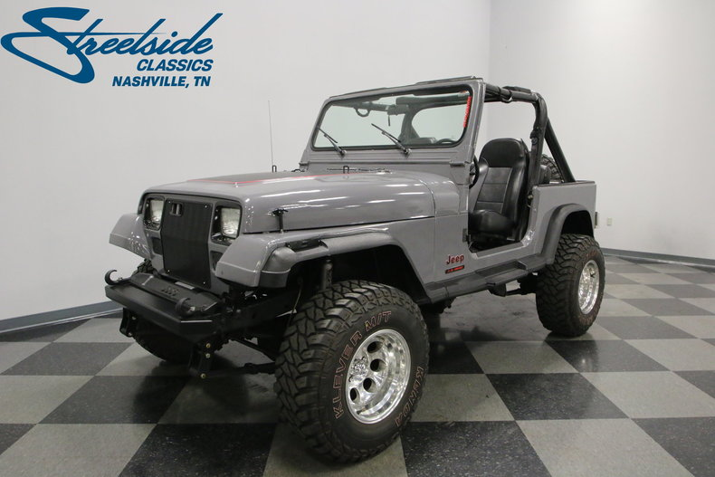 For Sale: 1987 Jeep Wrangler