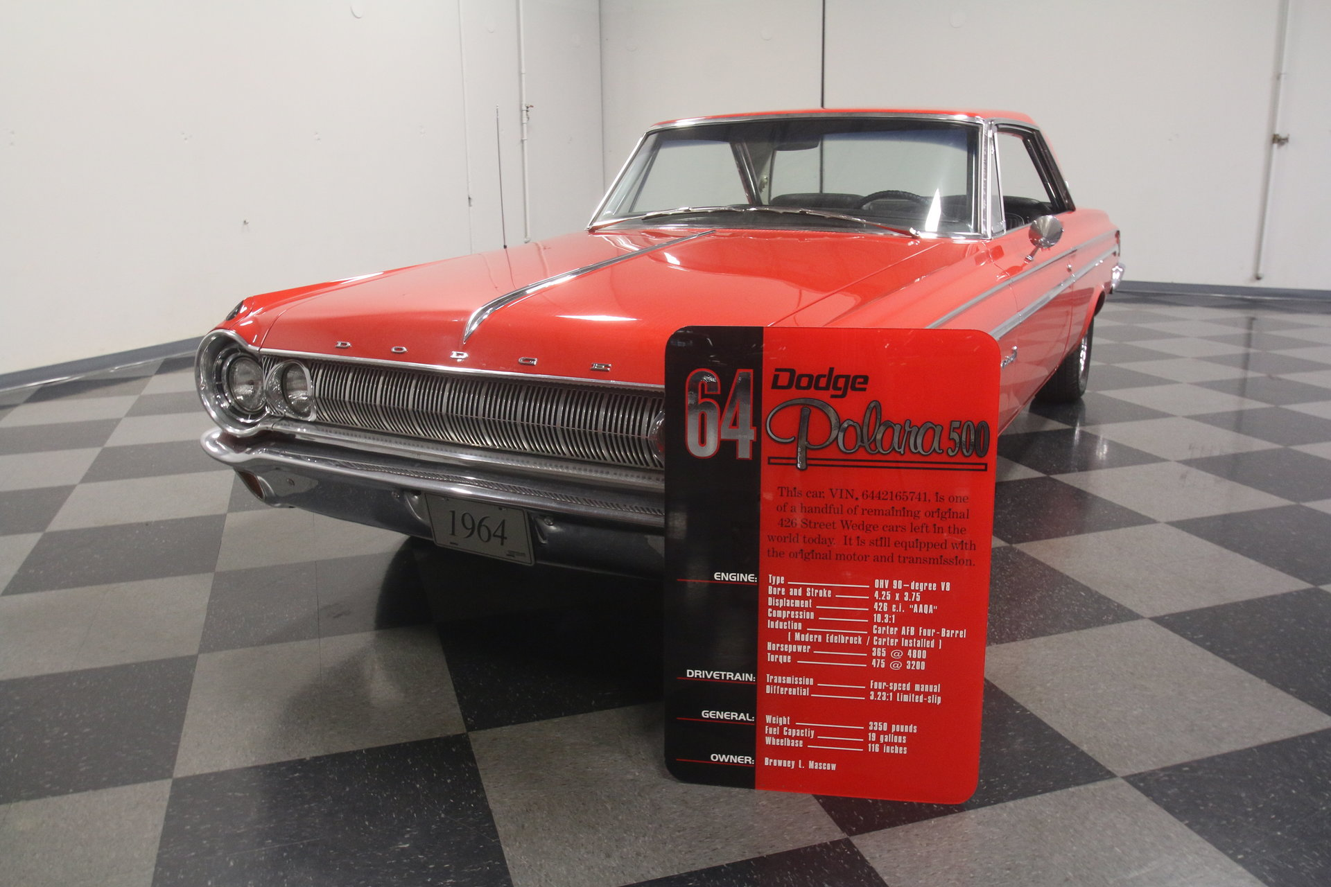 1964 Dodge Polara Streetside Classics The Nations Trusted 4 Door Hardtop For Sale Spincar View Play Video 360