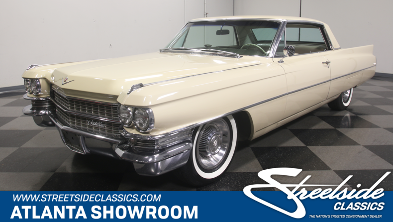 For Sale: 1963 Cadillac Coupe DeVille