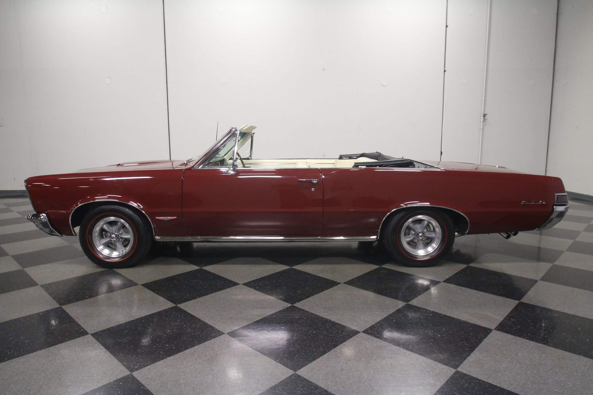 1965 Pontiac Gto Streetside Classics The Nations Trusted Phs Documented 4 Speed Tri Power 389 Red Black Show More Photos