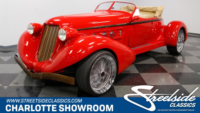 For Sale: 1936 Auburn Boattail