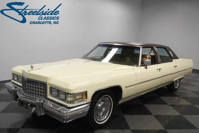 For Sale: 1976 Cadillac Fleetwood