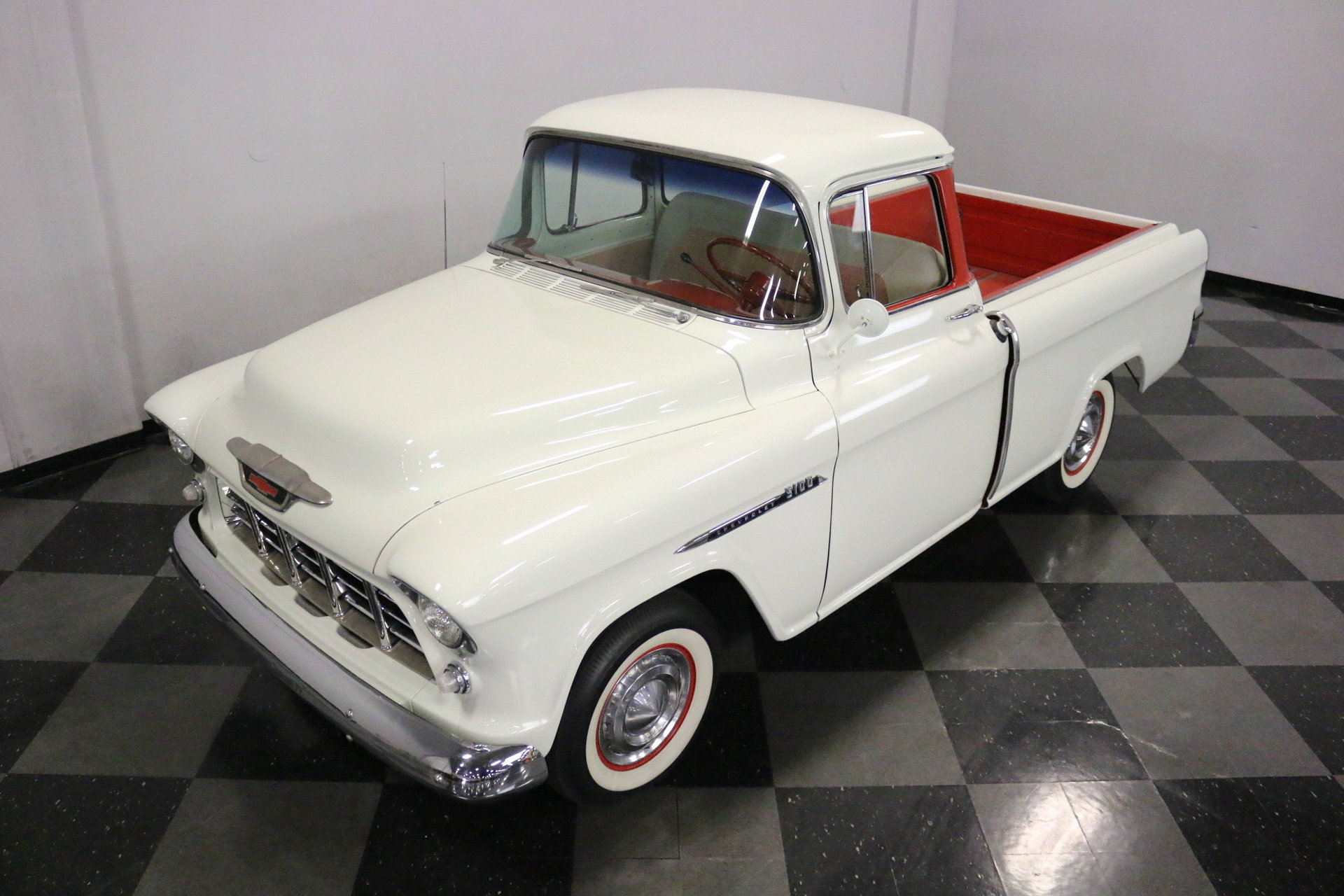 1955 Chevrolet 3100 Berlin Motors Chevy Cameo Truck For Sale