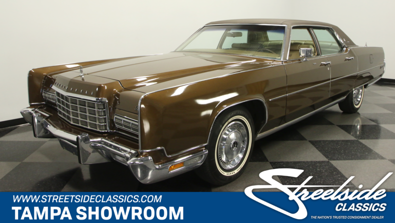 For Sale: 1973 Lincoln Continental