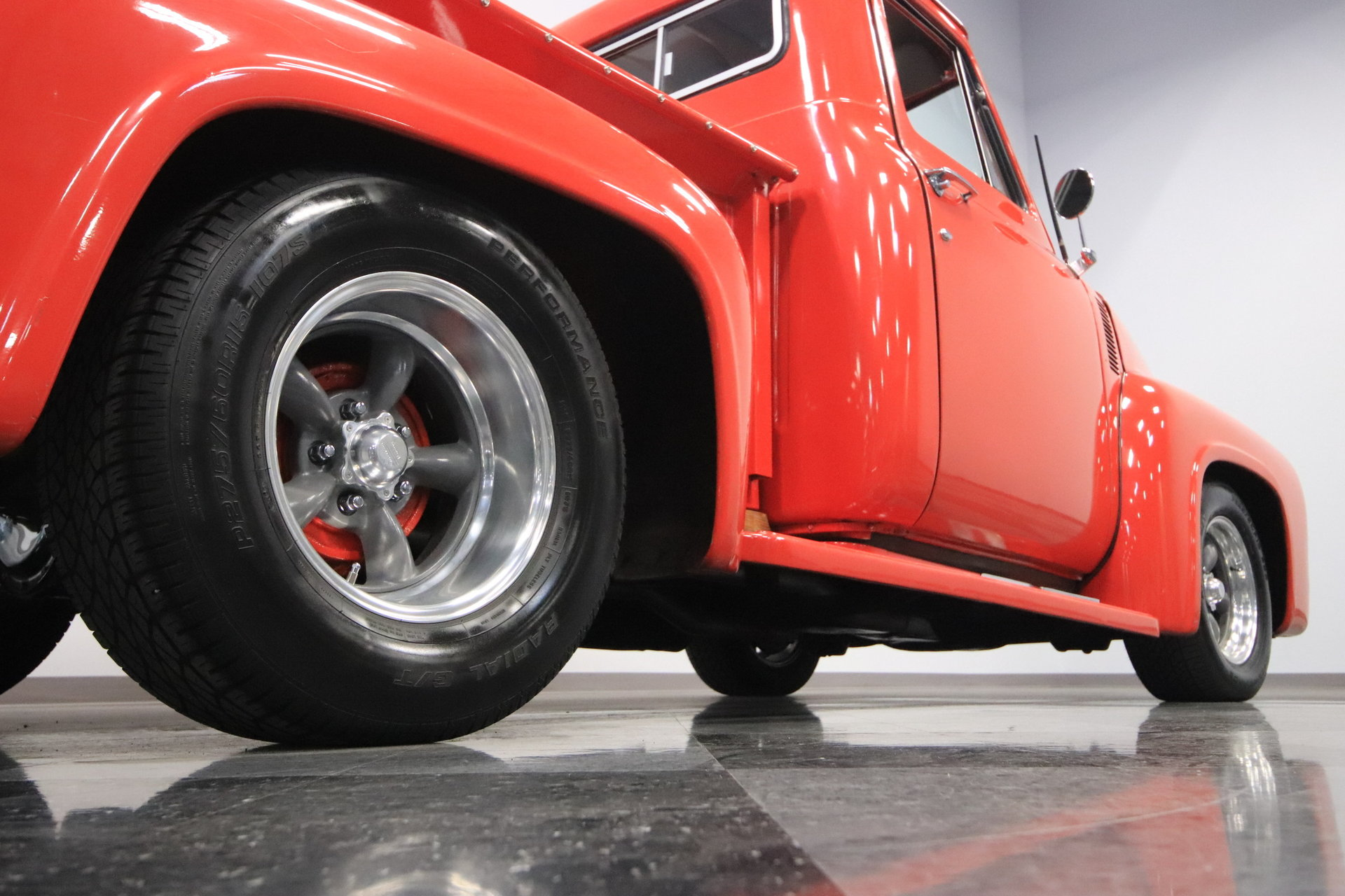 1955 Ford F 100 Streetside Classics The Nations Trusted Classic F100 Wheels View 360