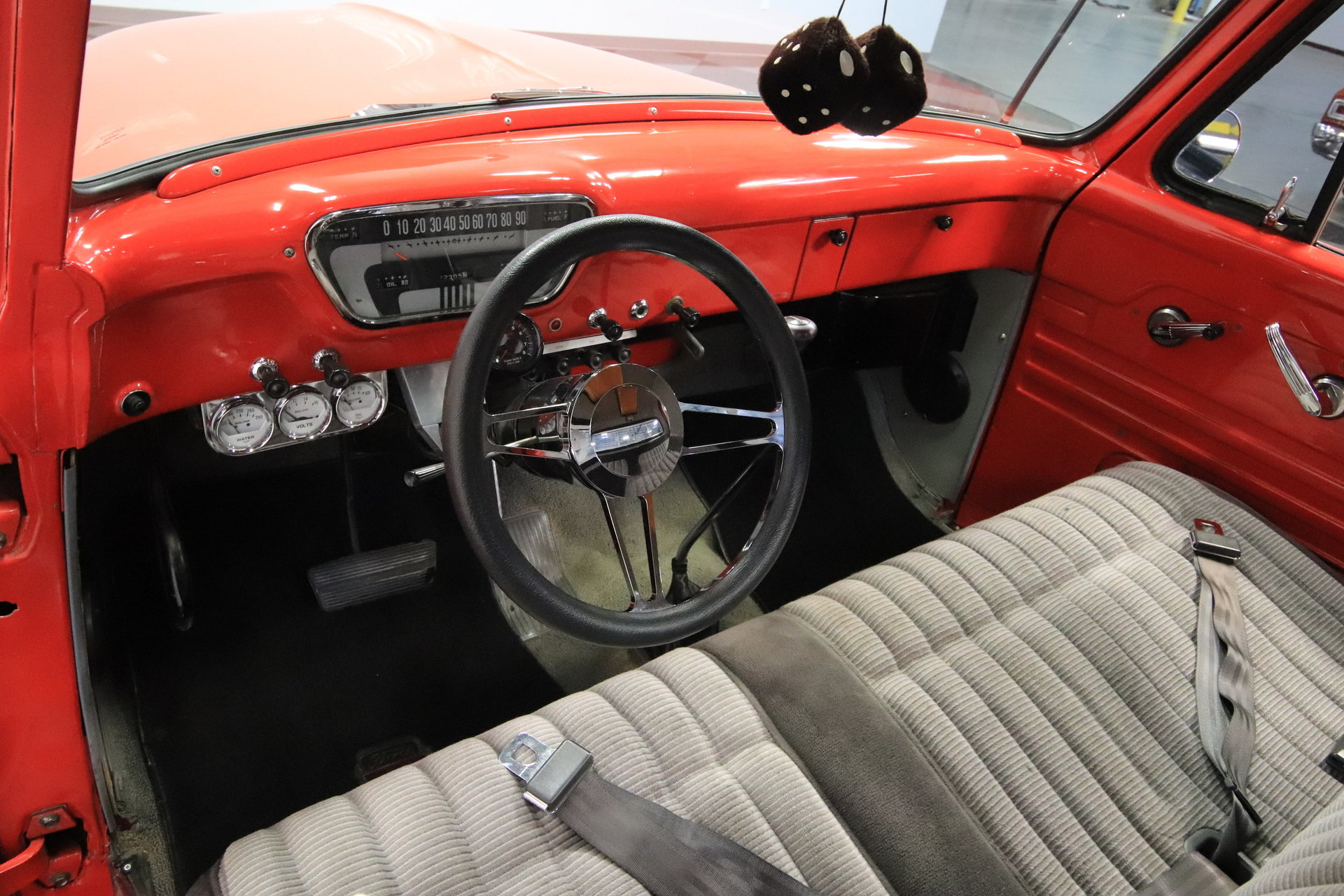 1955 Ford F 100 Streetside Classics The Nations Trusted Classic F100 Truck Steering Wheels View 360