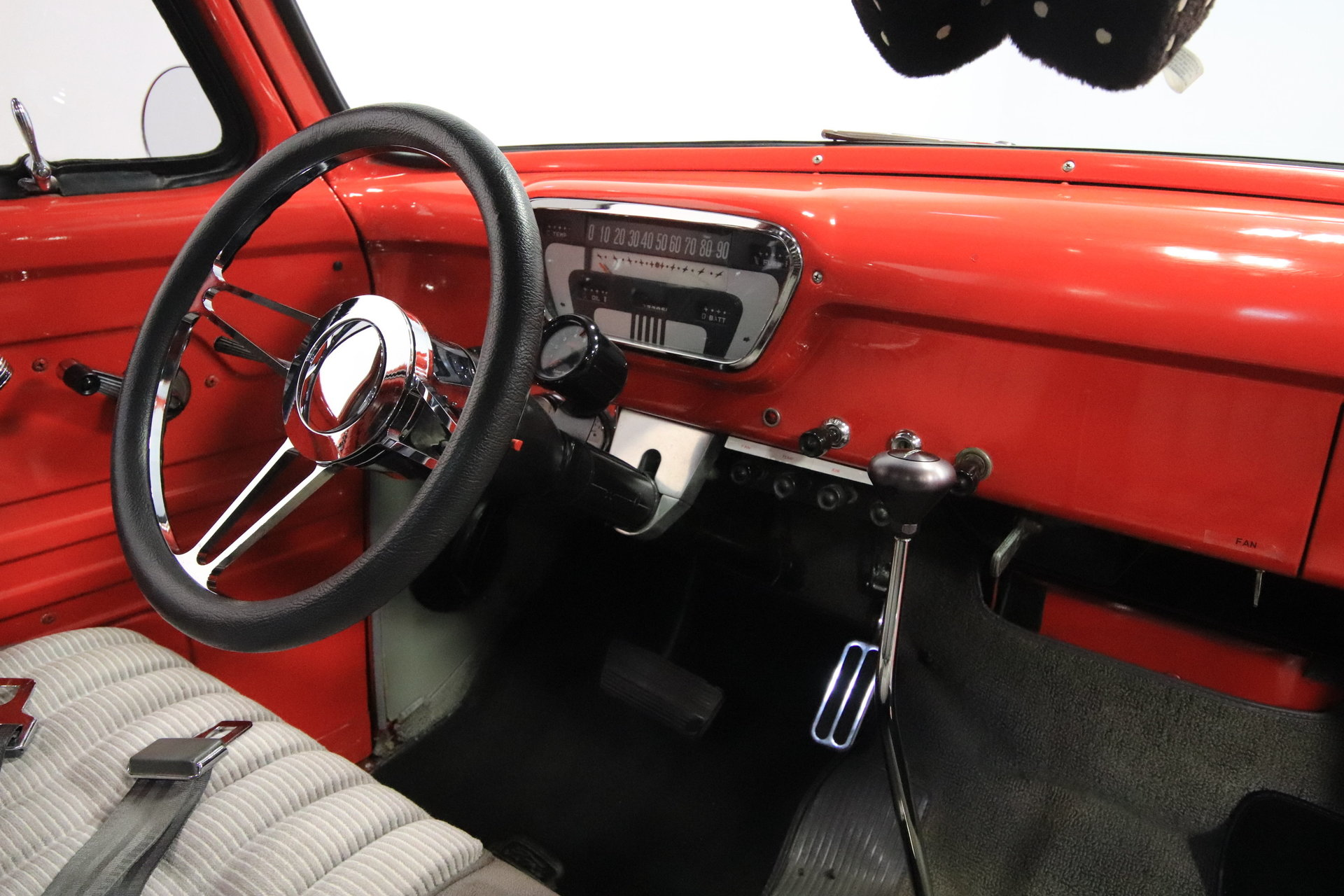 1955 Ford F 100 Streetside Classics The Nations Trusted Classic F100 Headliner View 360