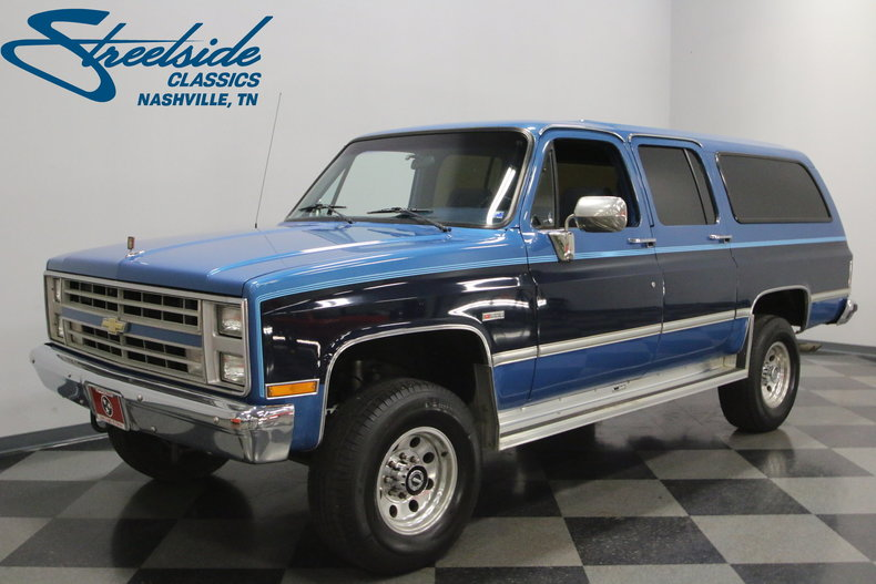 For Sale: 1988 Chevrolet Suburban