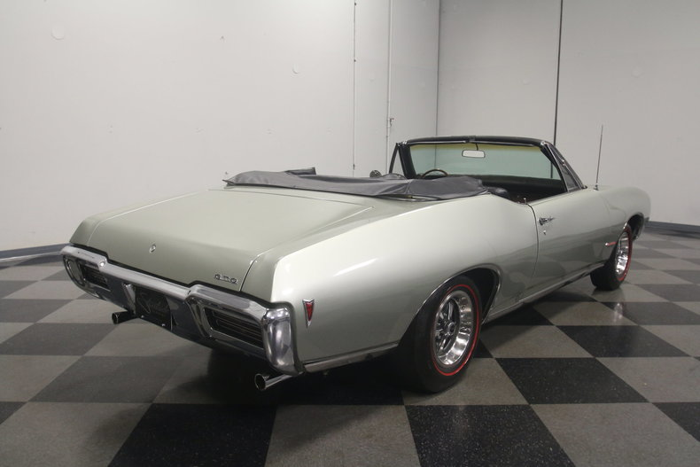 1968 pontiac gto convertible for sale 80833 mcg. Black Bedroom Furniture Sets. Home Design Ideas