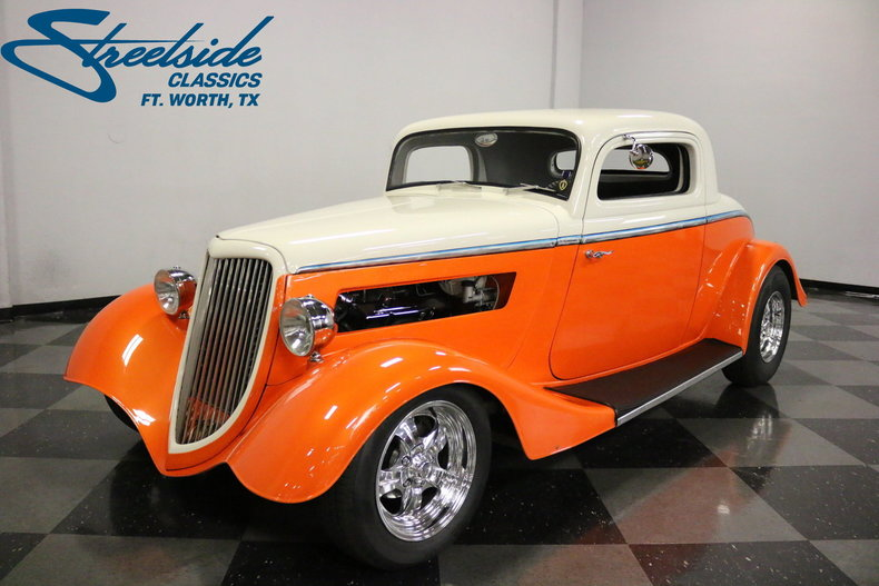 For Sale: 1934 Ford 3-Window