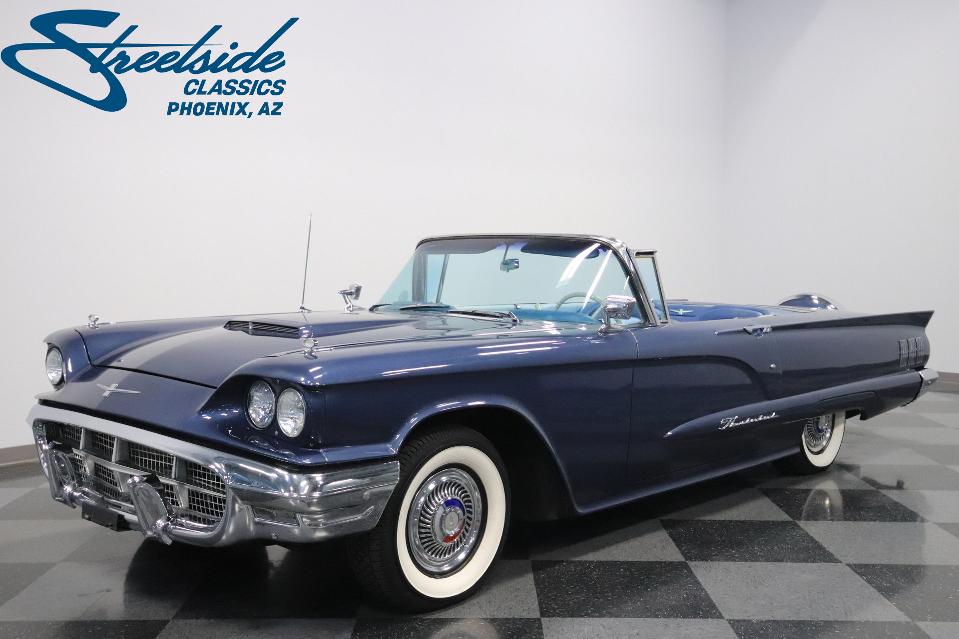 1960 Ford Thunderbird | Streetside Classics - The Nation\'s Trusted ...