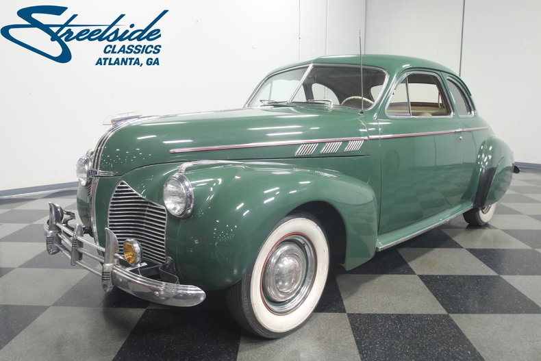 For Sale: 1940 Pontiac Torpedo Eight