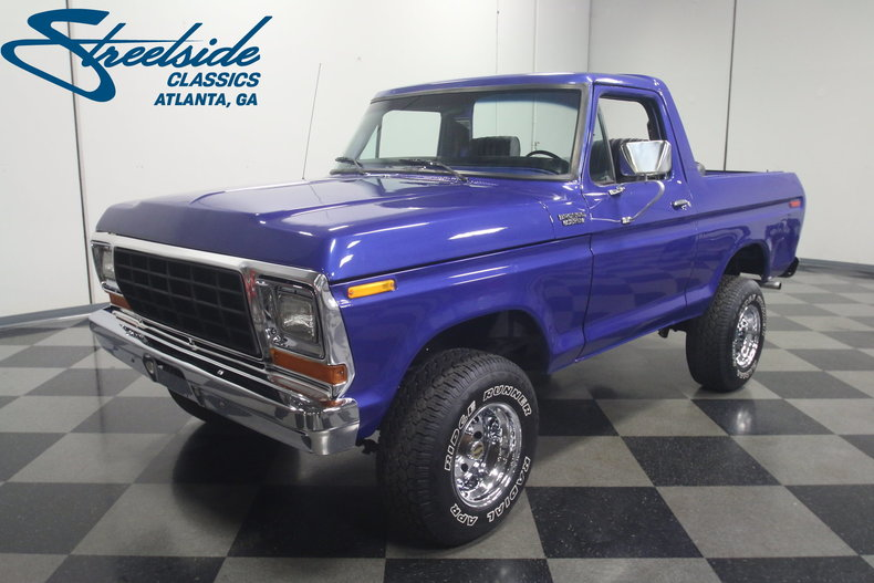 For Sale: 1979 Ford Bronco