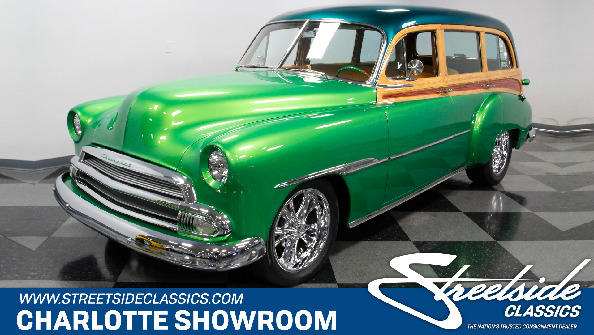 1951 Chevrolet Custom Deluxe Streetside Classics The Nations 2 Door Spincar View Play Video