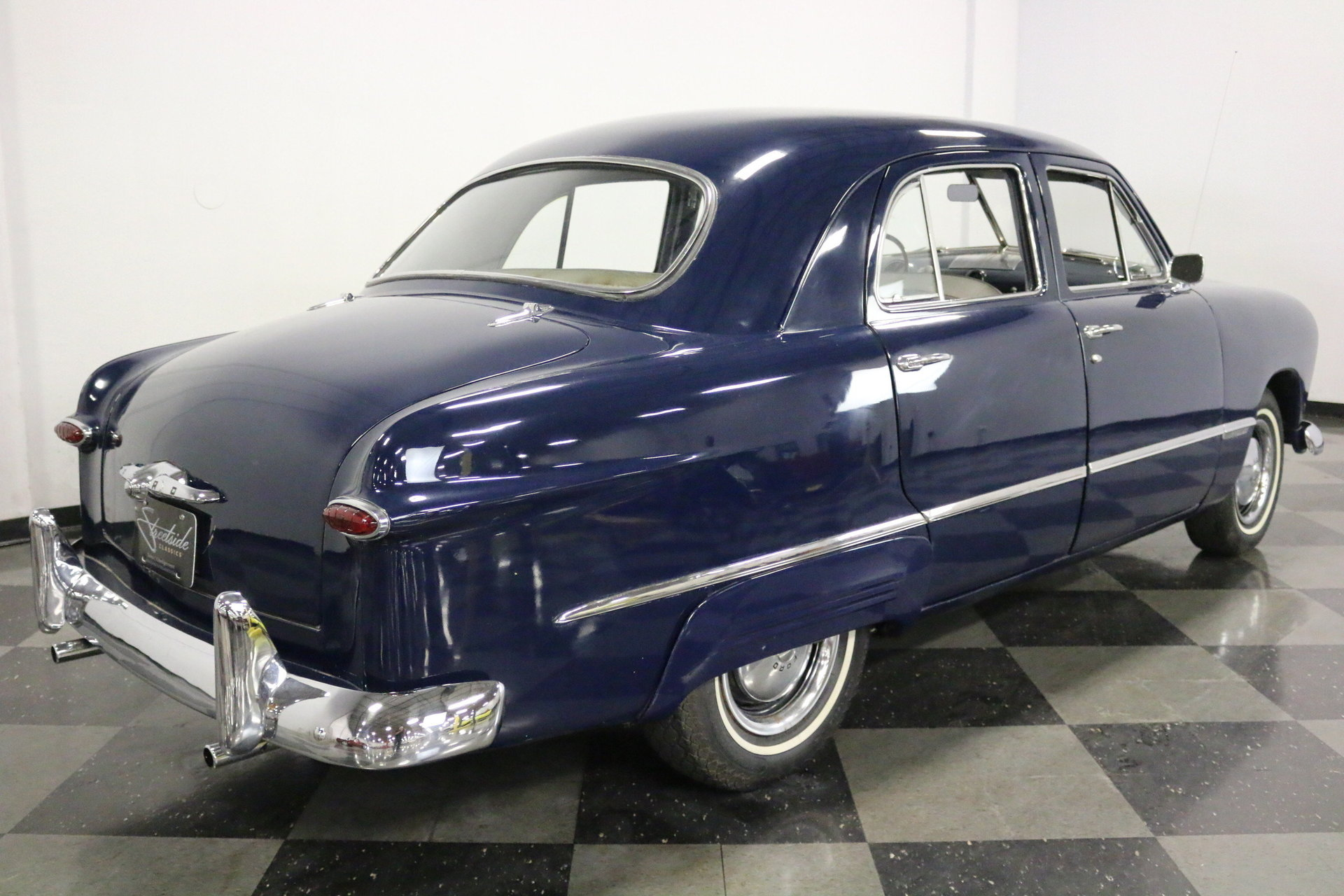 1949 Ford Custom Streetside Classics The Nations Trusted 2 Door Sedan View 360