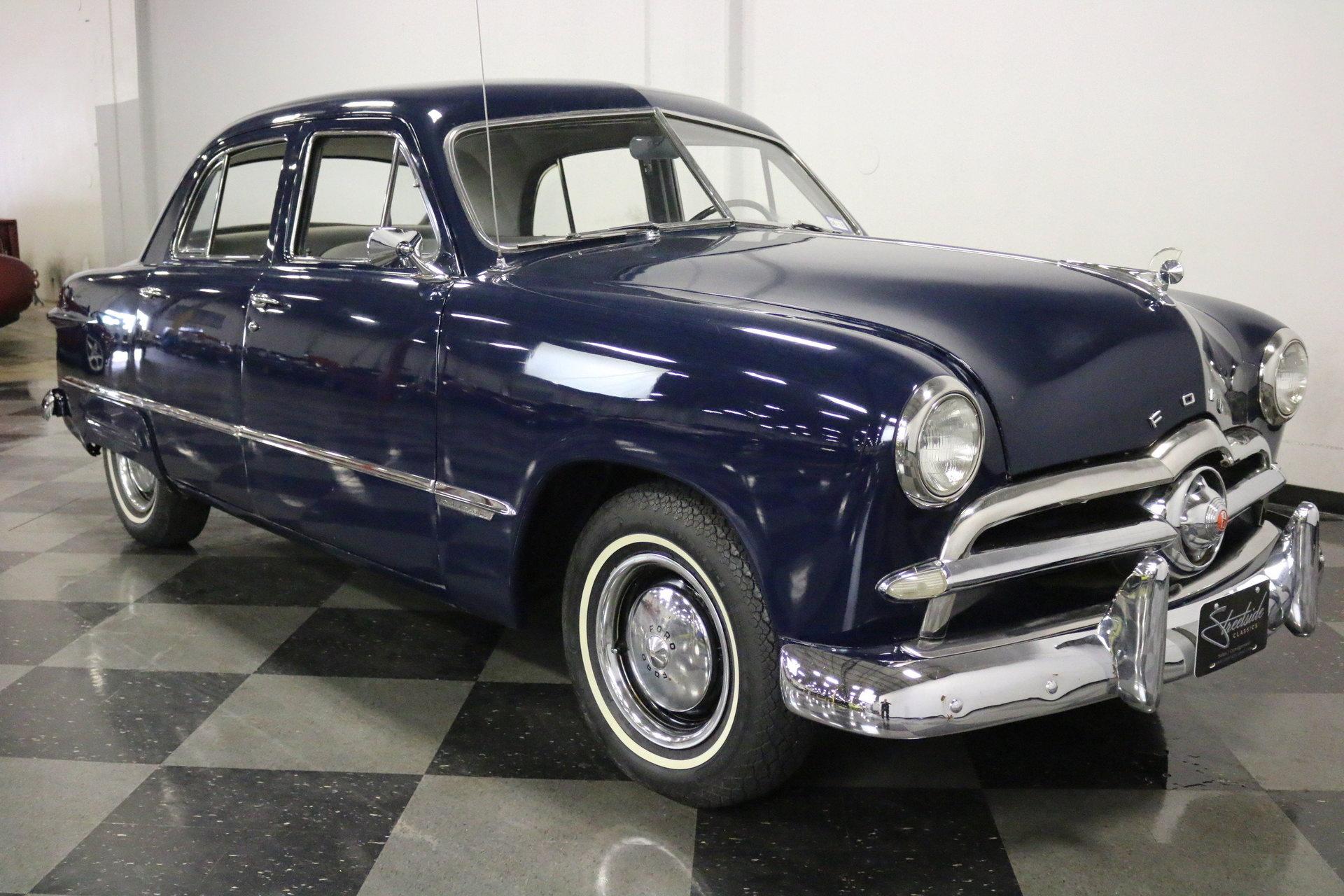1949 Ford Custom Sedan For Sale 83509 Mcg 2 Door Hardtop