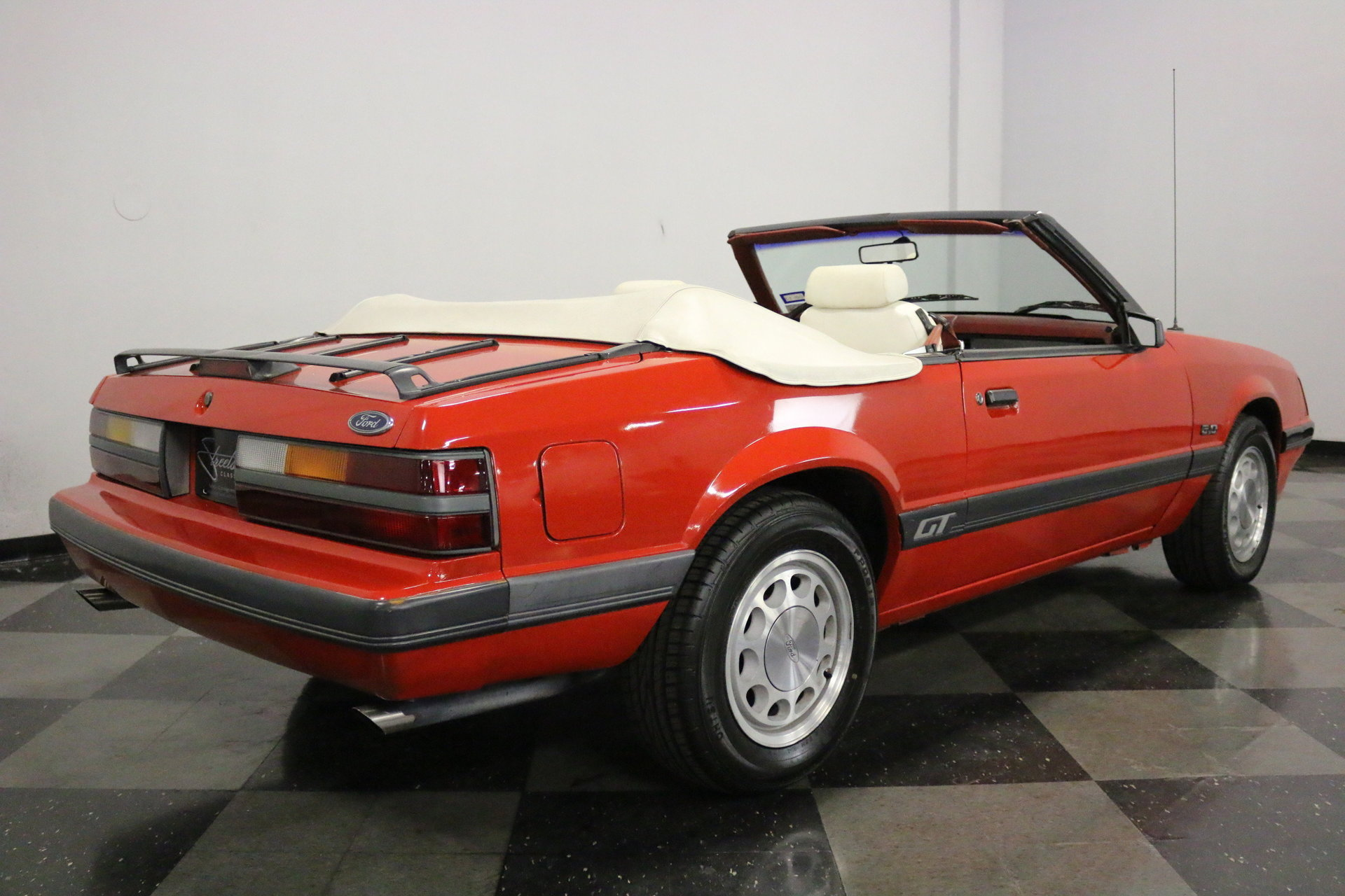 1986 Ford Mustang Streetside Classics The Nations Trusted Gt 5 0 Convertible View 360