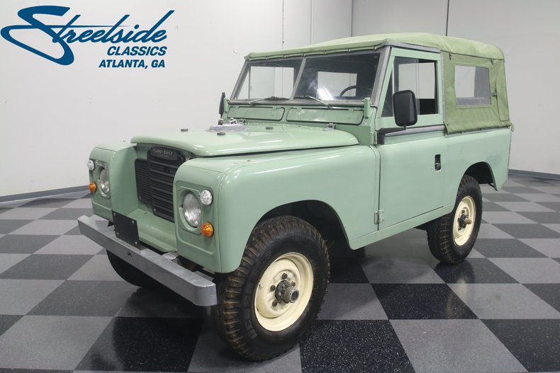 For Sale: 1980 Land Rover Series III