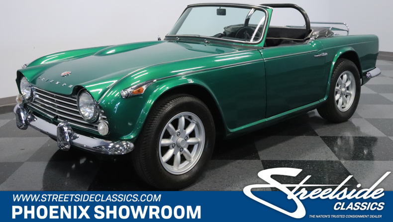 For Sale: 1967 Triumph TR4A IRS