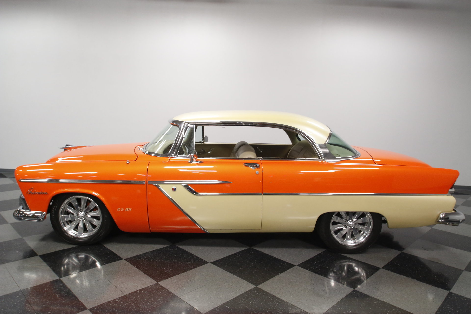 1955 Plymouth Belvedere Streetside Classics The Nations Trusted 69 Fury Radiator View 360